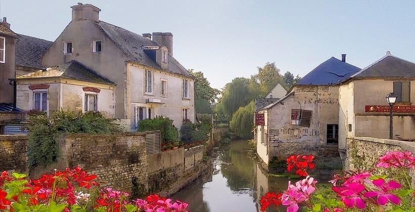 Город Байё во Франции