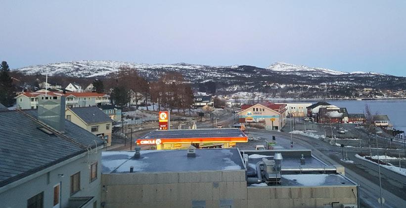 Город Фауске в Норвегии