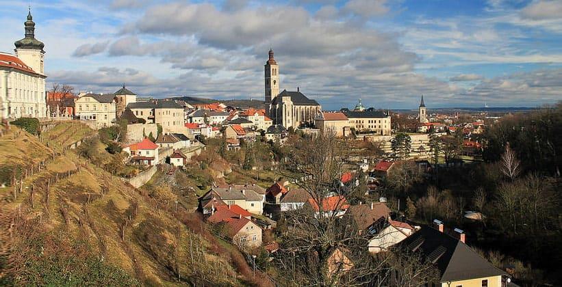 Город Кутна Гора в Чехии