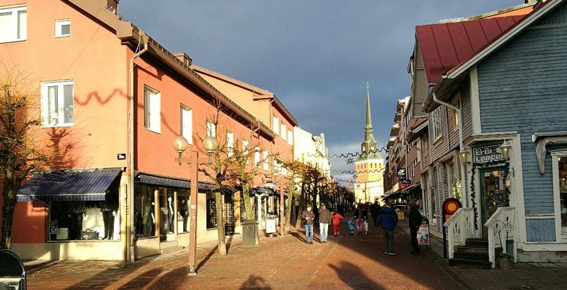 Город Мура в Швеции
