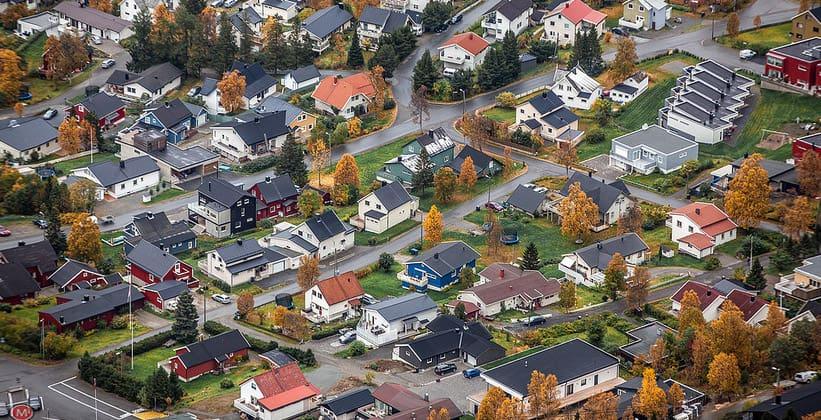 Город Тромсё в Норвегии