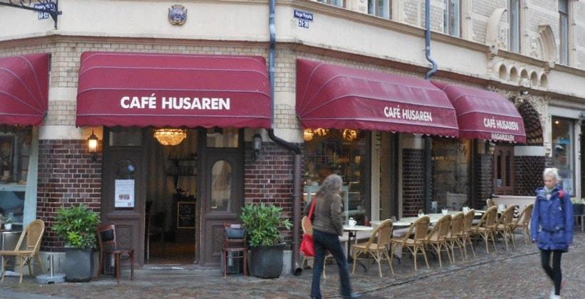Кафе Husaren в Гётеборге (Швеция)
