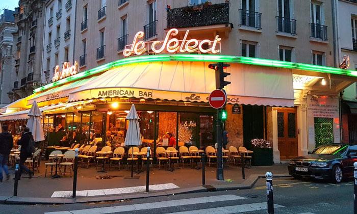 Кафе Le Select в Париже