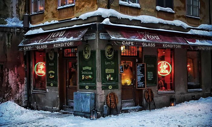 Кафе Nova в Стокгольме