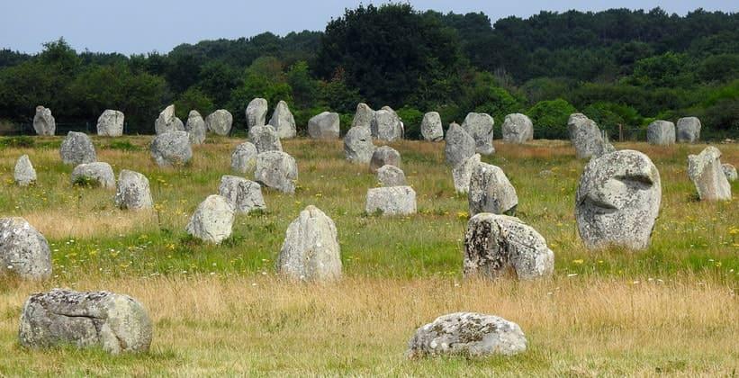 Камни Карнака (Франция)