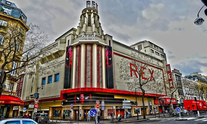 Кинотеатр Rex в Париже