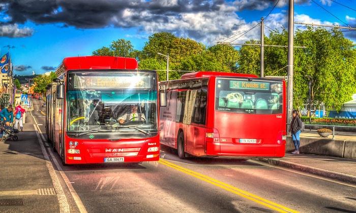 Муниципальные автобусы Осло