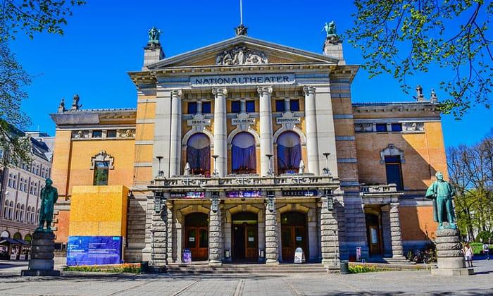 Норвежский национальный театр в Осло