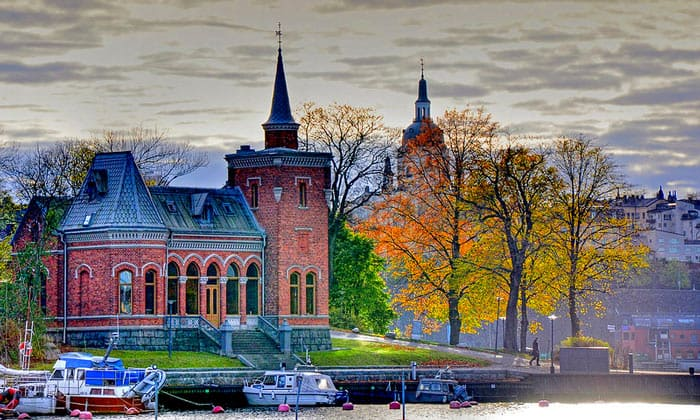 Остров Юргорден в Стокгольме