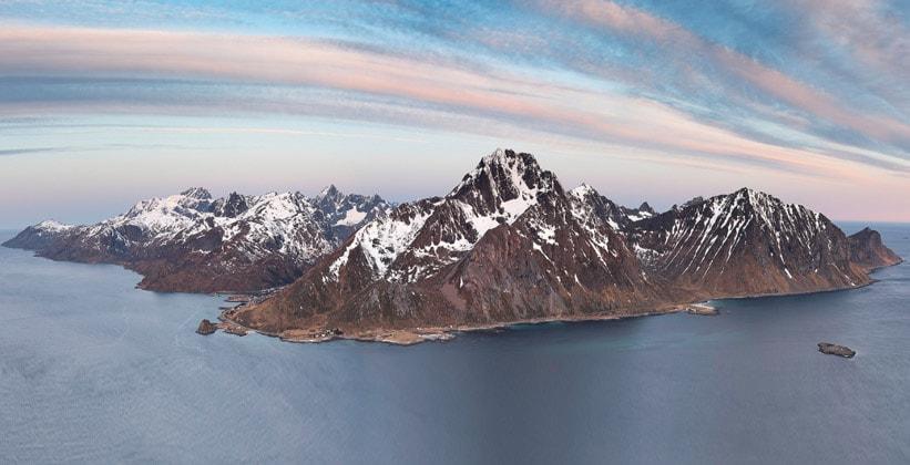 Остров Флакстадёйя в Норвегии