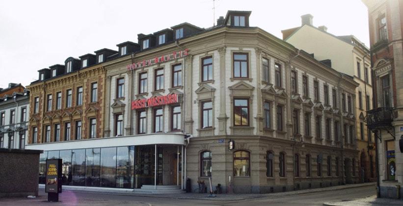 Отель Baltic в городе Сундсвалль (Швеция)