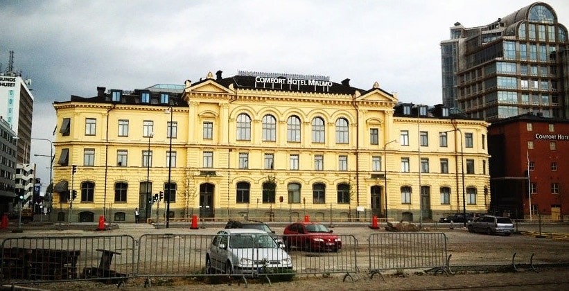 Отель Comfort в городе Мальмё