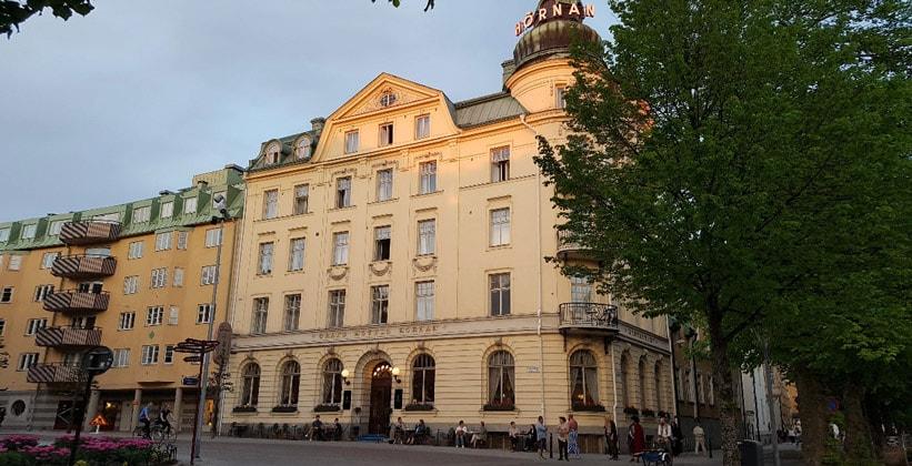 Отель Grand Hornan в городе Уппсала