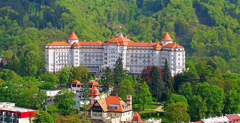 Отель Imperial в городе Карловы Вары