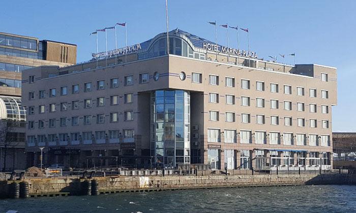 Отель Marina Plaza в Хельсингборге