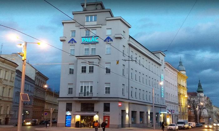 Отель Palac в городе Оломоуц
