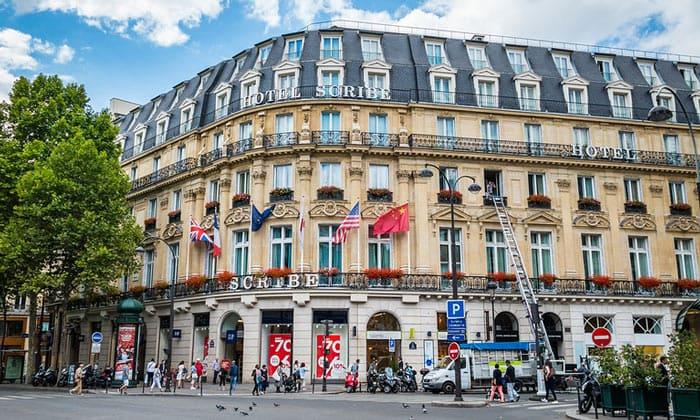 Отель Scribe в Париже