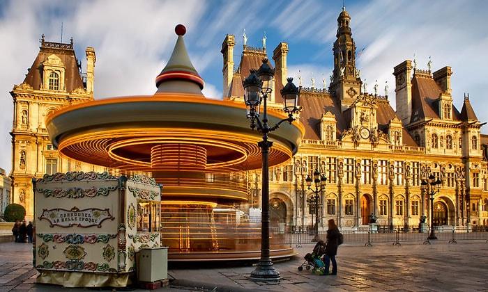 Ратуша (Отель-де-Виль) в Париже