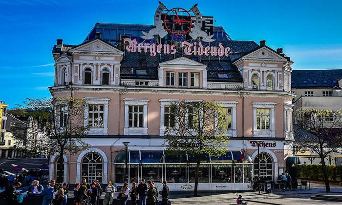 Ресторан Dickens в Бергене