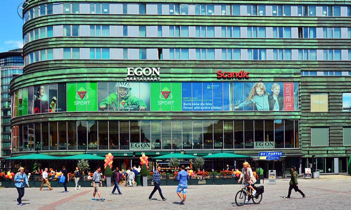 Ресторан Egon в Осло