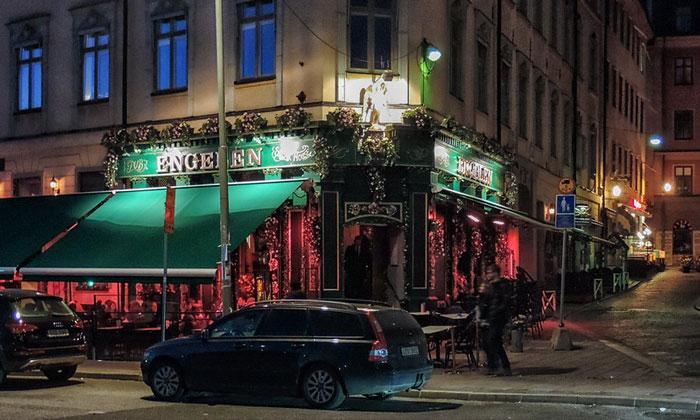 Ресторан Engelen в Стокгольме