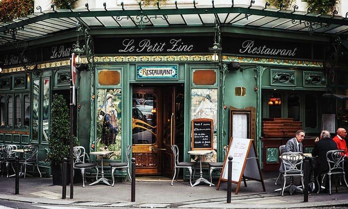 Ресторан Le Petit Zinc в Париже