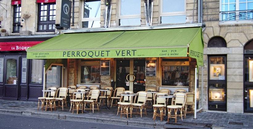Ресторан Perroquet Vert в Онфлёре