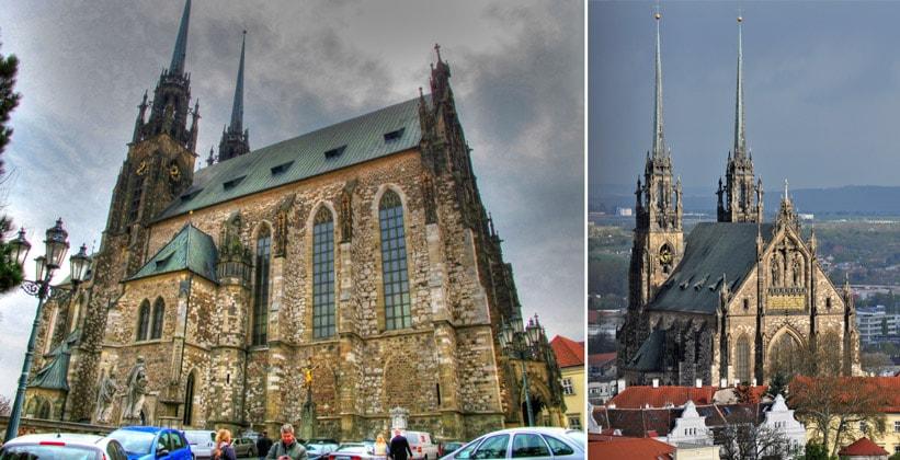 Собор Святых Петра и Павла в городе Брно (Чехия)