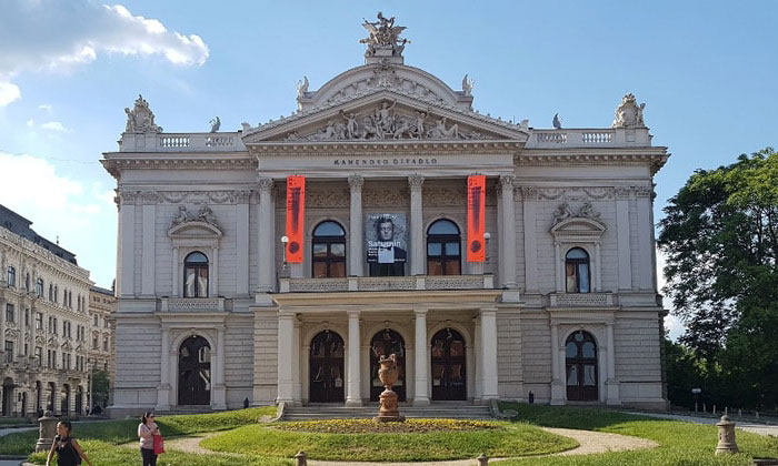 Театр Магена в городе Брно