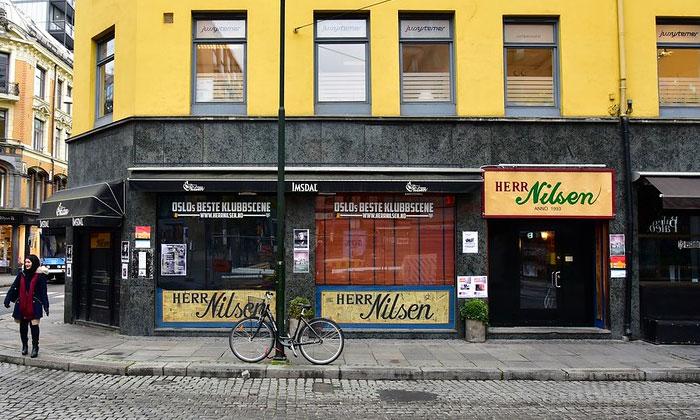 Заведение Herr Nilsen в Осло