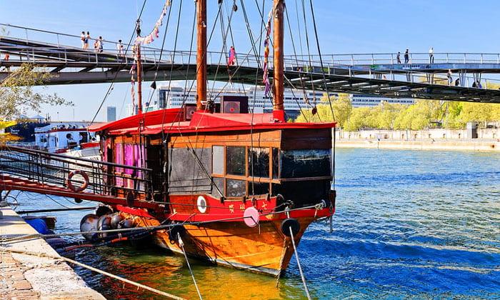 Заведение La Guinguette Pirate в Париже