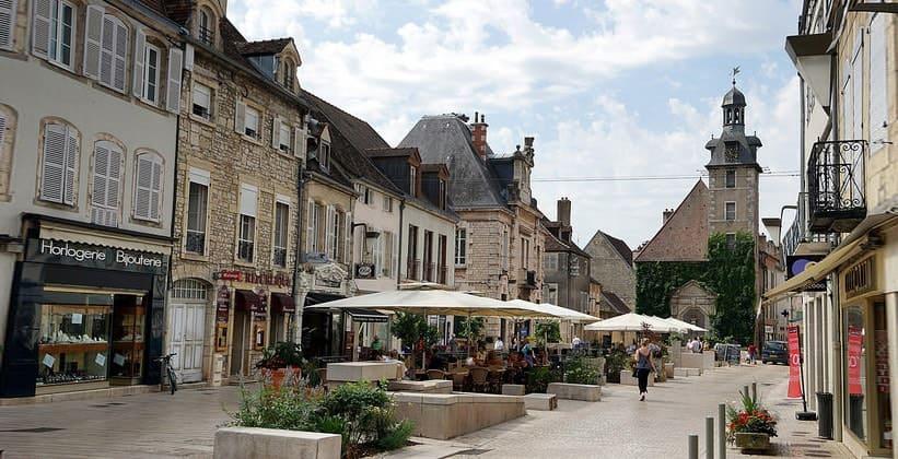 Город Бон во Франции