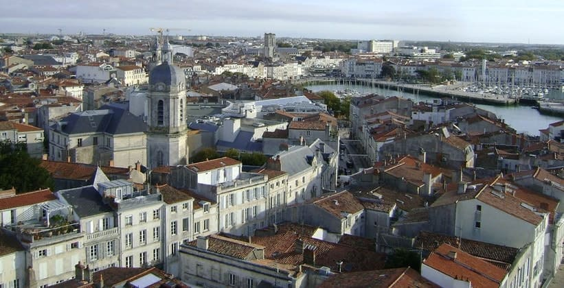 Город Ла-Рошель во Франции
