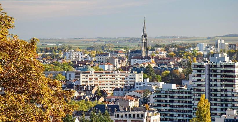 Город Нанси во Франции