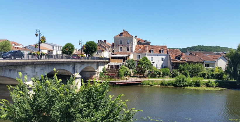 Город Перигё во Франции