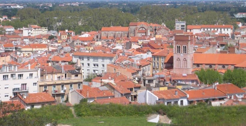 Город Перпиньян во Франции