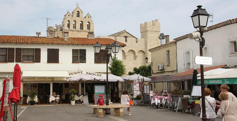 Город Сент-Мари-де-ла-Мер