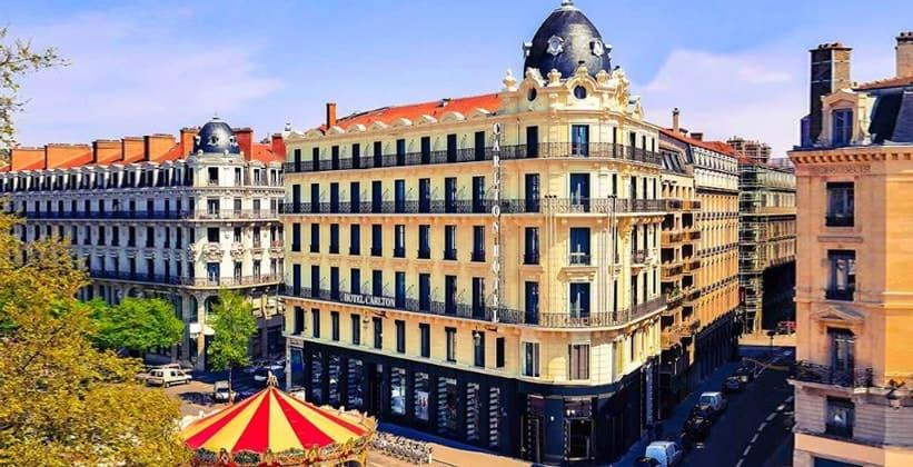 Отель Carlton в Лионе (Франция)