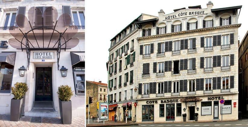 Отель Cote Basque в Байонне (Франция)