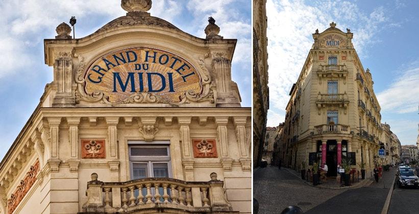 Отель Grand du Midi в Монпелье (Франция)