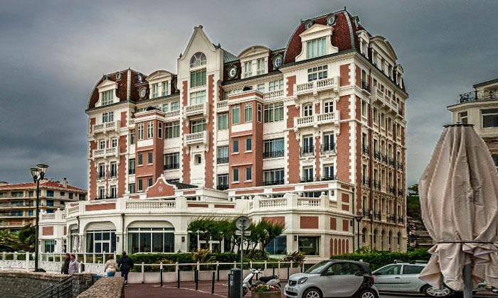 Отель Grand Thalasso and Spa в Сен-Жан-де-Луз