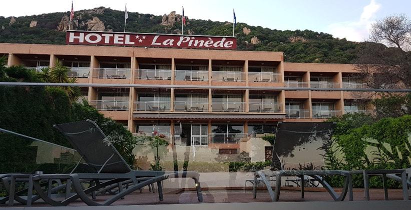 Отель La Pinede в городе Аяччо