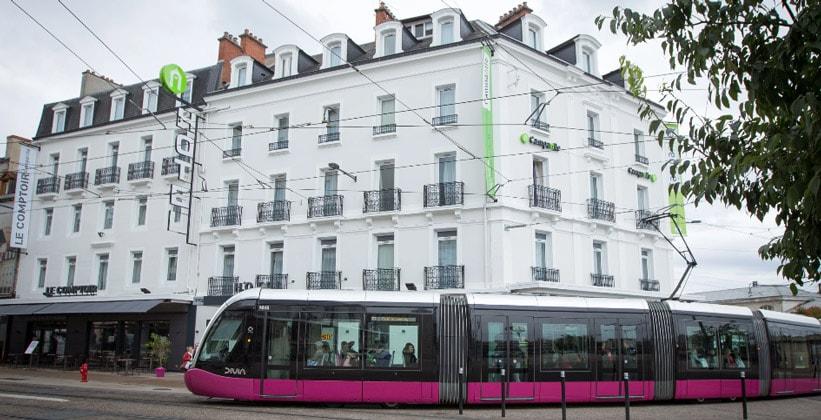 Отель Le Comptoir в городе Дижон