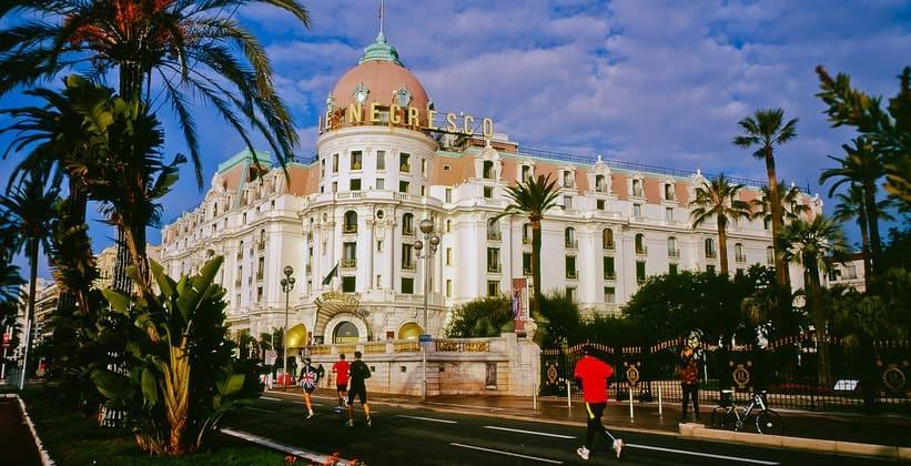 Отель Негреско в Ницце (Франция)