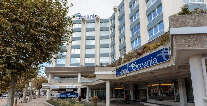 Отель Oceania в городе Клермон-Ферран (Франция)