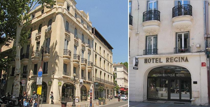 Отель Regina в городе Авиньон (Франция)