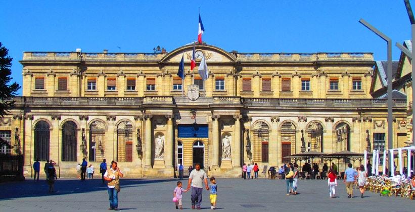 Ратуша города Бордо (Франция)
