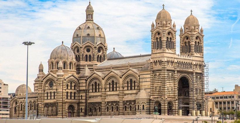 Собор Сент Мари Мажор в Марселе (Франция)
