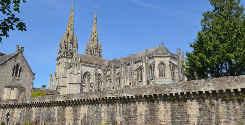 Кафедральный собор города Ванн (Франция)