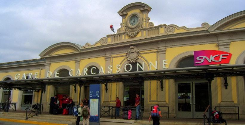 Каркассонский вокзал